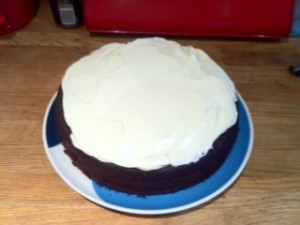 Guinness cake survives at the  paws of TLF