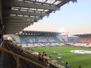 Bruges - First EVER Champions league game for TLF and LCFC